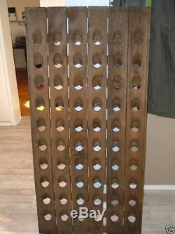 Old Champagne Riddling Rack for 60 Wine Bottles Winerack Bundle + Many Extras