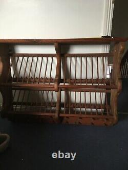 Original Penny Pine Plate Rack