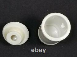 Rare1995 COMPLETE SET Lenox Ivory Cats of Distinction Spice Rack withJars, MIB/COA