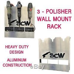 Rupes Torq Pc Polisher Rack Wall Mounted Holder Buffer Holder Detailing