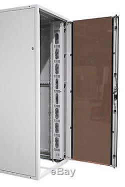SZBUK 19 Data Comms 42U 600x600 SERVER RACK NETWORK CABINET FLAT PACK