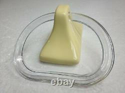 Saffron Yellow Ceramic Towel Bar Rack Rod Holders Vintage Classic Color 211 FL46