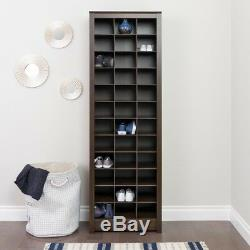 Shoe Storage Cabinet Organizer Holder Rack Display Closet Entryway Space Saving