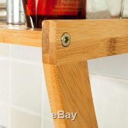 SoBuy Bathroom Wall Mounted Towel Rails, Storage Shelf Rack, FRG47-N, UK