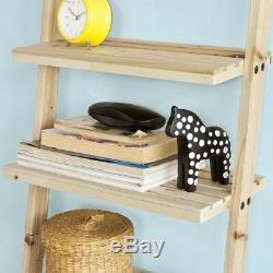 SoBuy Home Office Standing Storage Ladder Display Rack, Wall Shelf, FRG161-N, UK