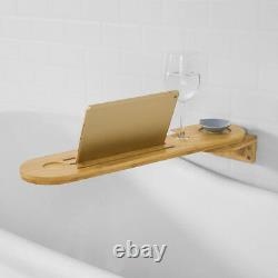 SoBuy Wall Space Save Rotatable Bathtub Rack Bathtub Tray Holder, FRG274-N, UK