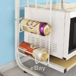 SoBuy Wood Kitchen Microwave Oven Storage Rack Household Shelf FRG092-N, UK