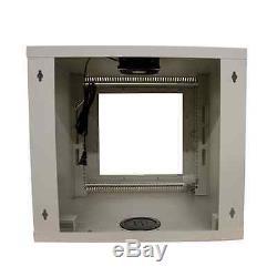 StarTech CAB1019WALL 10U 19in Wall Mounted Server Rack Cabinet 19 10U Internal
