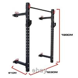Strength Shop wall mounted riot garage rack