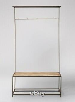 Swoon Tilde Living Room Shoe Rack Natural RRP £229