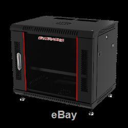 Sysracks 12U Wall Server Rack Cabinet IT Enclosure Over $ 50 Accessories FREE