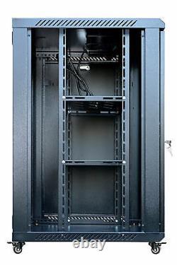 Sysracks 18U 18 Deep Wall Mount IT Network Server Rack Cabinet Enclosure New