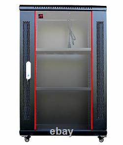 Sysracks 18U 24 Deep Wall Mount IT Network Server Rack Cabinet Box