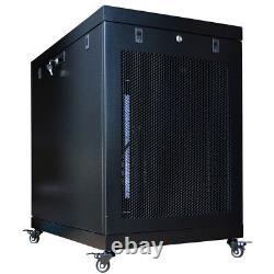 Sysracks 22U Server Rack Cabinet Enclosure Premium Series Sysracks 35 Depth