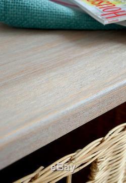 TETBURY Acacia Bench and Hanging shelf, QUALITY Hallway storage bench, coat rack