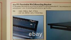 Target Audio Tt1 Hifi Turntable Rack Stand Wall Mount Shelf Support L@@@k