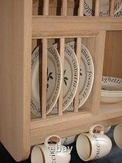 The Oakfield. Traditionally Crafted Plate Rack Standard or Tailored sizes