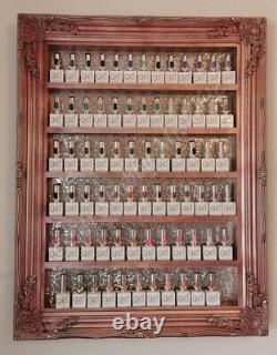The gel bottle Racks Shelves Salon Displays Nail Polish Salon Furniture