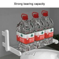 Touch Switch Heated Towel Rail Warmer Electric Drying Rack Shelf Wall Mount
