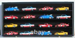 Toy Cars Wheels Model Car O Scale Train Display Case Cabinet Wall Shelf Rack