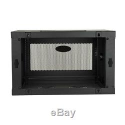 Tripp Lite 6U Wall Mount Rack Enclosure server vertical Cabinet Switch-Depth