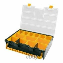 Van Workshop Racking Cabinet 7 Carry Cases Drawers Parts Storage Boxes Trays