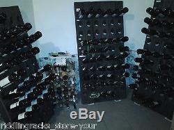 Very Old Champagne Riddling Rack for 60 Wine Bottles Big Oak Winerack 1A QUALITY