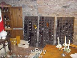 Very Old Oak Champagne Riddling Rack for 60 Wine Bottles Winerack + Wall-Holder