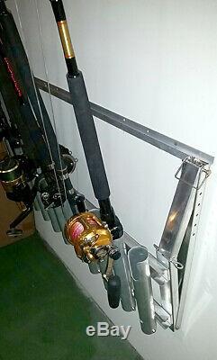 Viking Truck Bed/Wall-Mount Fishing Rod Rack VKS-VFR004
