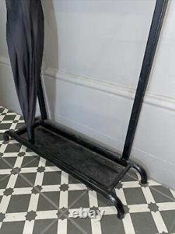 Vintage Antique French Hat Stand Coat Rack Hall Mirror Full Bought Atomic Era