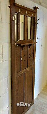 Vintage Hall Stand Coat Rack Retro Wall Mounted Space Saver