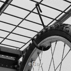 Wall Mount Garage Storage Shelf Rack Steel Holder Heavy Duty Tool Organizer New