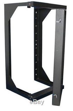 Wall Mount Swing Out Gate Network IT Steel Cabinet Data Rack 25U 18 Depth