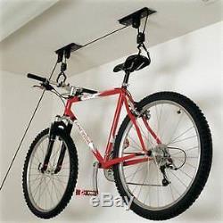 Wall Mounted Bicycle Storage Rack Bike Hanging Holder Cycling Roof Hanger Garage