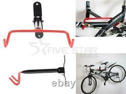 Wall Mounted Bike Cycle Storage Rack Garage Shed Storage Bicycle Holder