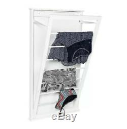 Wall Mounted Clothes Line Drying Rack Space Saver LG Laundry Folding Hanging Rod