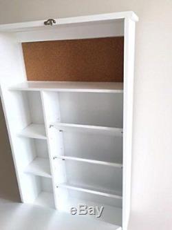 Wall Mounted Foldable Desk Table Save Space Storage Blackboard Kids Study Racks