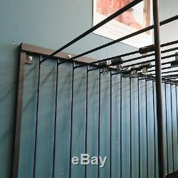 Wall Mounted Rug Rack 16 Swing Arm Display Unit, equestrian rug rack