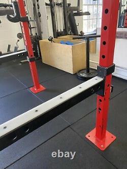Wall Mounted Squat/Bench Rack (EFP / BLK BOX)