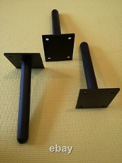 Wall Mounted Weight Plate Storage Holder, Rack, Bar. 1 weights