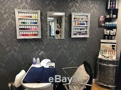 Wall mounted nail polish rack Set Of 2 Medium Any Colour