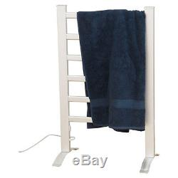 Warmer Drying Rack Heated Electric Towel Bar Wall Mount Bathroom Stand Hang New