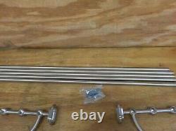 Water Creation BA-0001-02 Multi-Purpose Bath Train Rack As Restoration Hardware