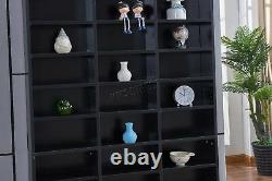 WestWood CD DVD Shelf Storage Video Game Book Tower Stand Display Rack PB CSP01