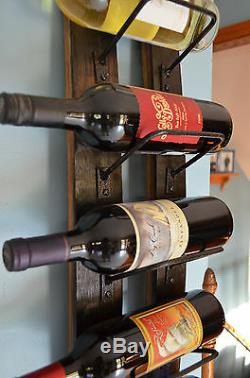 Whiskey Barrel Stave wine rack