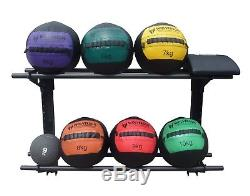 Wolverson Fitness 52 Wall Mounted Wall Ball Storage Racks