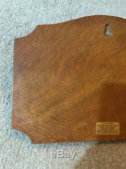 Wren Man Bob Hunter Oak Wall Mounted Spoon Rack Ex Mouseman Apprentice