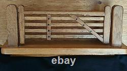 Wrenman Wall Mounted Large Letter Rack Bob Hunter Mouseman Interest Perfect