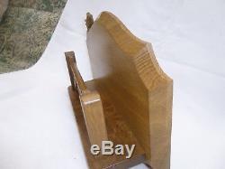 Wrenman wall mount letter rack(ex robert mouseman thompson apprentice)